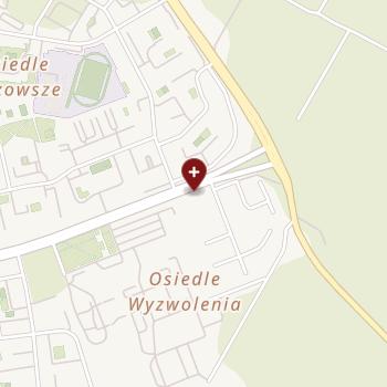 Szpital Wojewódzki im. Kardynała Stefana Wyszyńskiego w Łomży na mapie