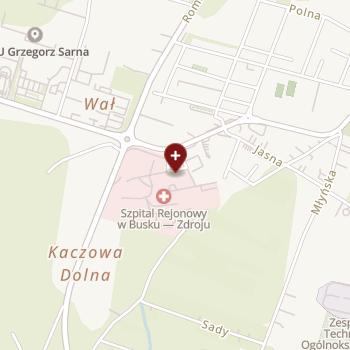NZOZ Kraków-Południe na mapie