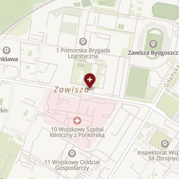 Ambulatorium Dowództwa Jednostki Wojskowej nr 1189 na mapie