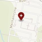 """Ośrodek Chirurgii i Implantologii Stomatologicznej """"Ochis"""" na mapie"""