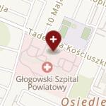 Głogowski Szpital Powiatowy na mapie
