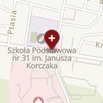 Podlaski Wojewódzki Ośrodek Medycyny Pracy na mapie