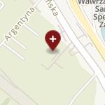 Szpital Świętego Łukasza na mapie