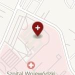 Szpital Wojewódzki w Bielsku-Białej na mapie