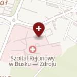 Zespół Opieki Zdrowotnej w Busku-Zdroju na mapie