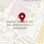 Centrum Naukowo-Badawcze Artmedik w Kielcach na mapie