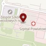 Powiatowy ZOZ na mapie
