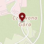 Wojewódzki Szpital Specjalistyczny im. św. Rafała w Czerwonej Górze na mapie