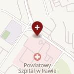 Powiatowy Szpital im. Władysława Biegańskiego w Iławie na mapie