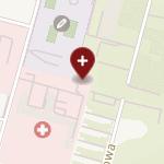 Szpital Miejski św. Jana Pawła II w Elblągu na mapie