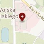 SPZOZ Ministerstwa Spraw Wewnętrznych i Administracji z Warmińsko-Mazurskim Centrum Onkologii w Olsztynie na mapie