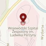 Wojewódzki Szpital Zespolony im. Ludwika Perzyny w Kaliszu na mapie