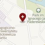 Calisia - Józef Bażant, Piotr Bażant na mapie