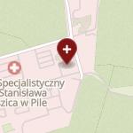 Szpital Specjalistyczny w Pile im. Stanisława Staszica na mapie