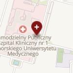 SPSK Nr 1 im. prof. Tadeusza Sokołowskiego Pomorskiego Uniwersytetu Medycznego w Szczecinie na mapie