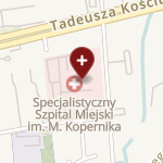 Specjalistyczny Szpital Miejski im. Mikołaja Kopernika na mapie