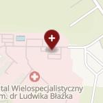 Szpital Wielospecjalistyczny im. dr. Ludwika Błażka w Inowrocławiu na mapie