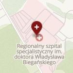 Regionalny Szpital Specjalistyczny im. dr. Władysława Biegańskiego na mapie