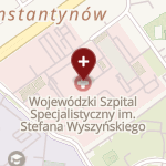 Wojewódzki Szpital Specjalistyczny im. Stefana Kardynała Wyszyńskiego SPZOZ w Lublinie na mapie