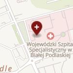 Wojewódzki Szpital Specjalistyczny w Białej Podlaskiej na mapie