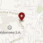 """NSZOZ """"Diagnostyk"""" L. Szyiński, W. Kwiecień na mapie"""