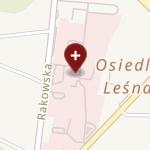 Samodzielny Szpital Wojewódzki im. Mikołaja Kopernika w Piotrkowie Trybunalskim na mapie