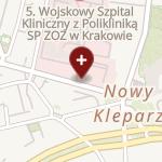5 Wojskowy Szpital Kliniczny z Polikliniką-SPZOZ w Krakowie na mapie