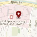 Krakowski Szpital Specjalistyczny im. Jana Pawła II na mapie