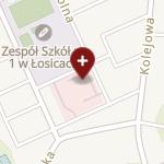 SPZOZ w Łosicach na mapie