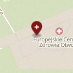 Europejskie Centrum Zdrowia Otwock na mapie