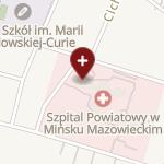 SPZOZ w Mińsku Mazowieckim na mapie