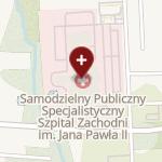 Samodzielny Publiczny Specjalistyczny Szpital Zachodni Im.Św. Jana Pawła II na mapie