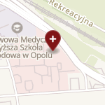 SPZOZ Opolskie Centrum Onkologii im. prof. Tadeusza Koszarowskiego w Opolu na mapie