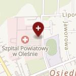 Zespół Opieki Zdrowotnej w Oleśnie na mapie