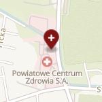 Powiatowe Centrum Zdrowia w Kluczborku na mapie