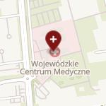 Uniwersytecki Szpital Kliniczny w Opolu na mapie